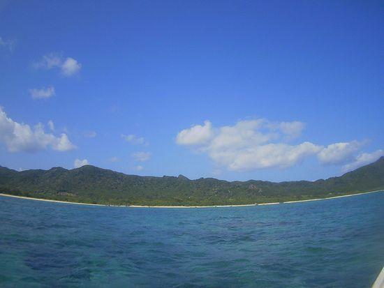 本日の晴れの石垣島です