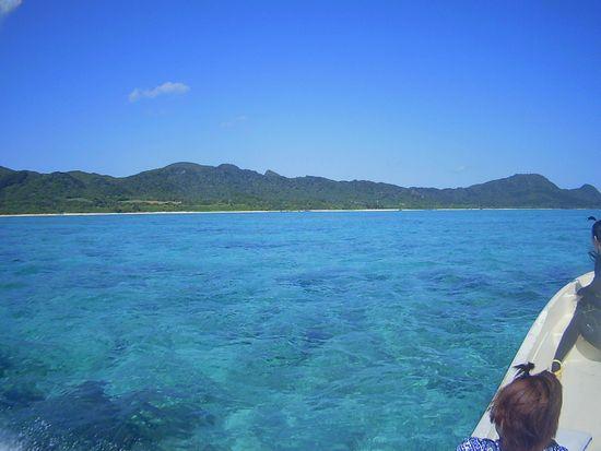 2月とは思えない快晴の石垣島です。