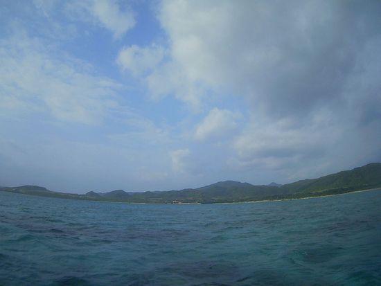晴れたり曇ったりの石垣島