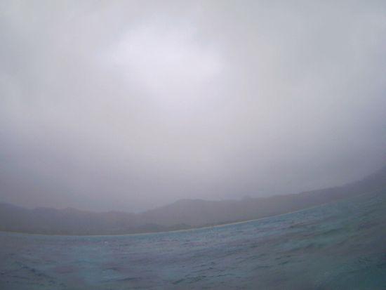 前線の通過、石垣島の天気は切り替わりです