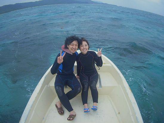 初めての石垣島のH田さんとK林さんです