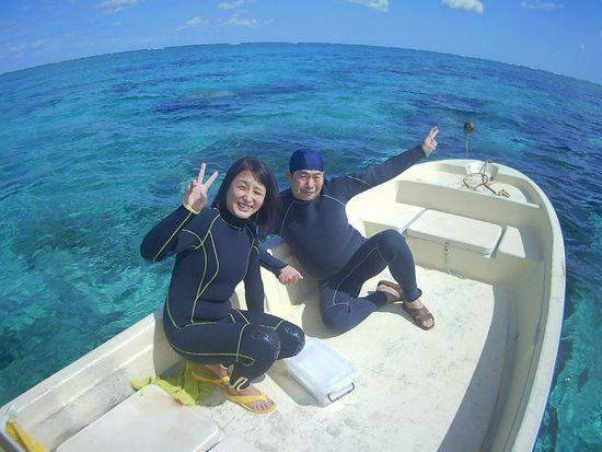 リピーターI澤さんとO友さんです。