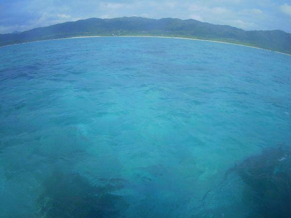 晴れの陽気の石垣島です