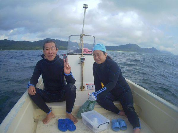 3月の恒例石垣島旅行、Mさんです