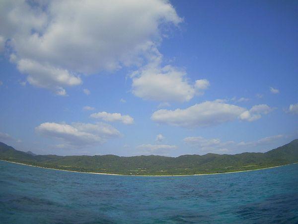 やっと晴れの天気の石垣島です