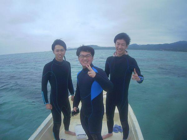 卒業旅行で石垣島