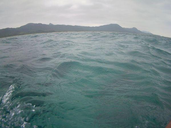 あいにくの曇りの一日となった石垣島です