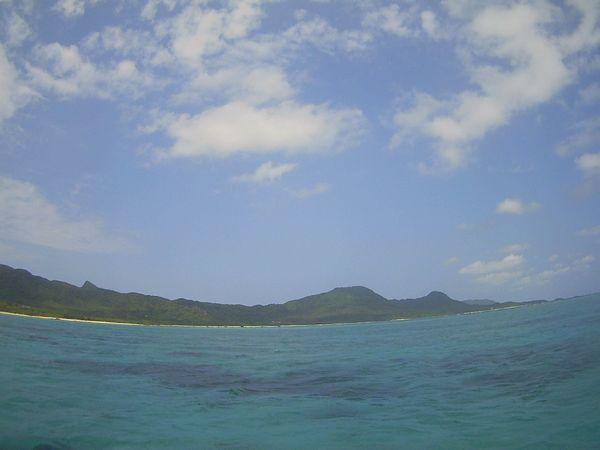 久々の晴れの石垣島です。