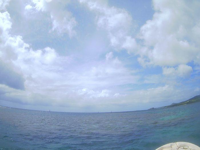 雲は少し多めの晴れの天気となった石垣島です。