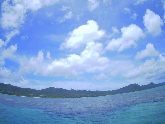 すがすがしい晴れの石垣島