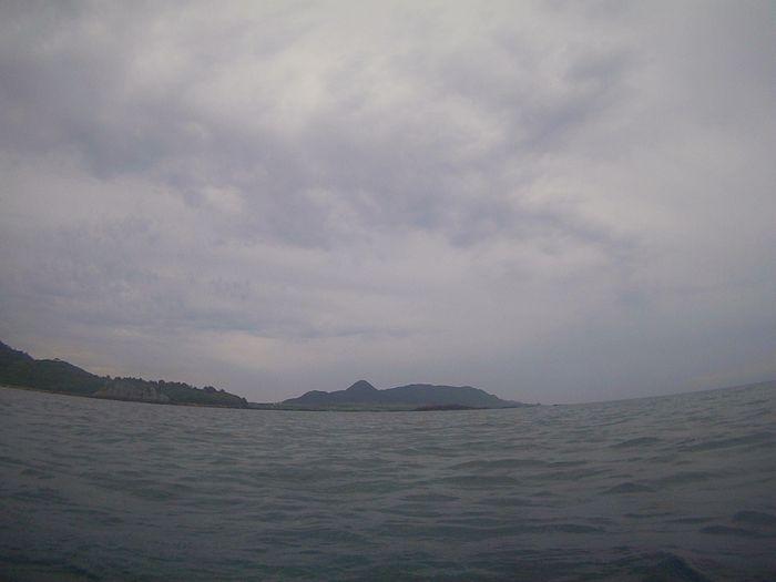 どんより曇りの石垣島です