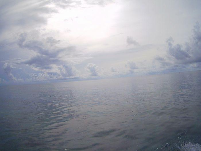 雲の石垣島、快適です