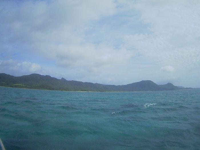 晴れたり曇ったりの石垣島です