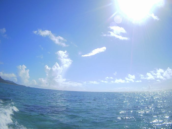 やっと夏海広がる石垣島です