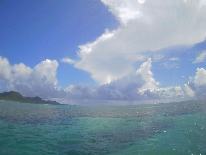 通り雨!夏の石垣島です