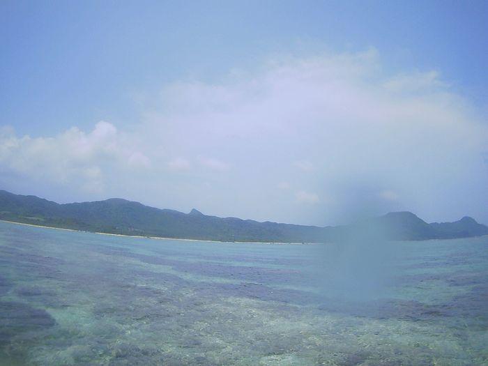 本日も快晴、海日和、シュノーケリング日和です。