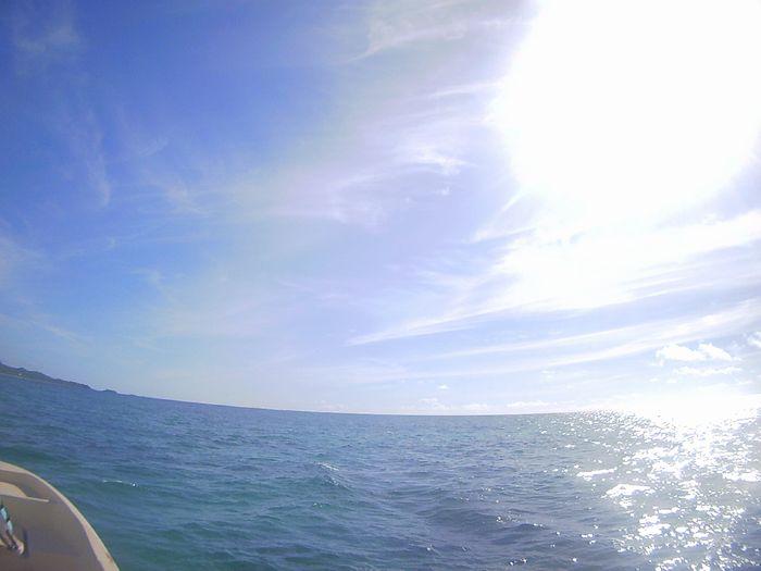 天気は絶好調の石垣島です