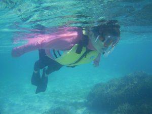 石垣島は9月でも10月でも11月でもシュノーケリング日和です。