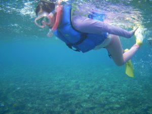 シュノーケルツアーを通して子供成長が楽しみ!石垣島の水中世界を満喫です!