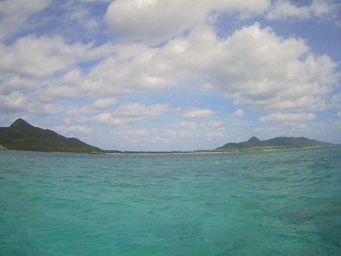 天気は変わらず晴れの石垣島です