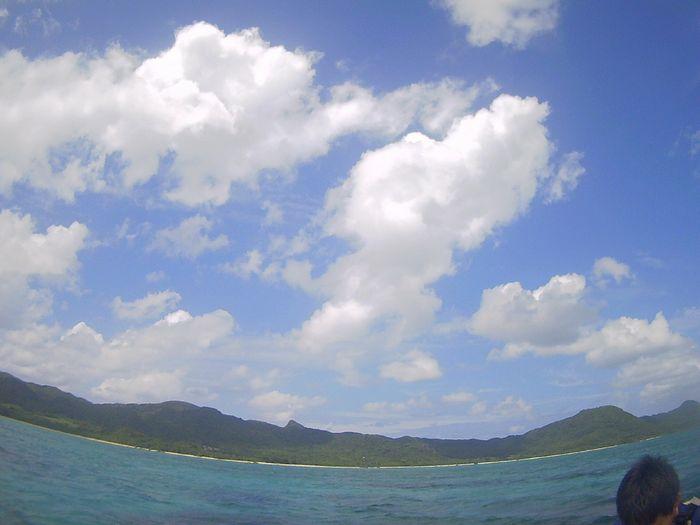 午後からは晴れの石垣島