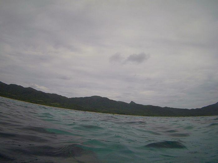 午前は曇りの石垣島でした