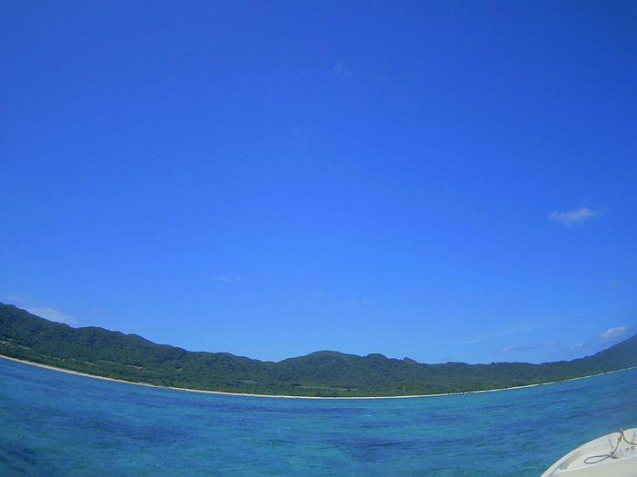 午後からは青空広がる石垣島です。