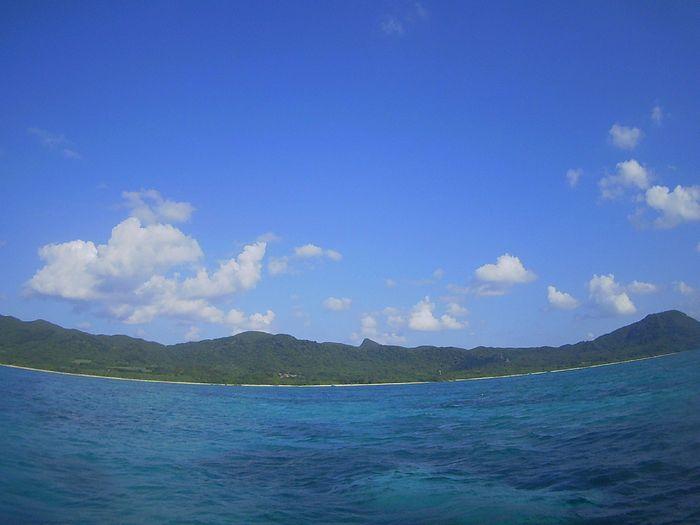 晴れ間の登場!10月初日の石垣島