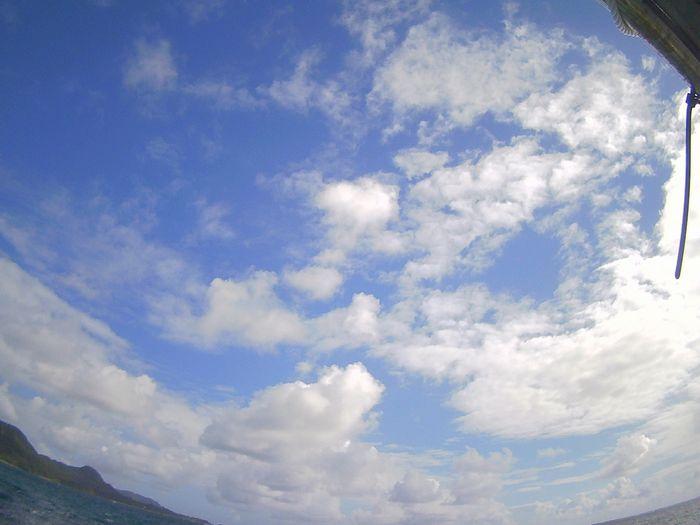 晴れたり曇ったりの天気が続く石垣島です
