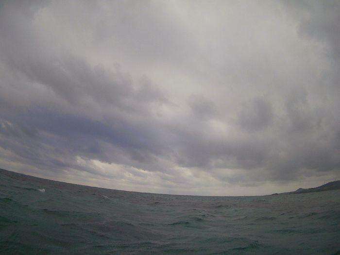 曇りの一日となった石垣島です