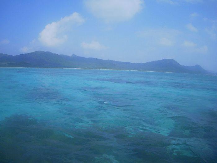 今日も晴れ間の登場、石垣島です