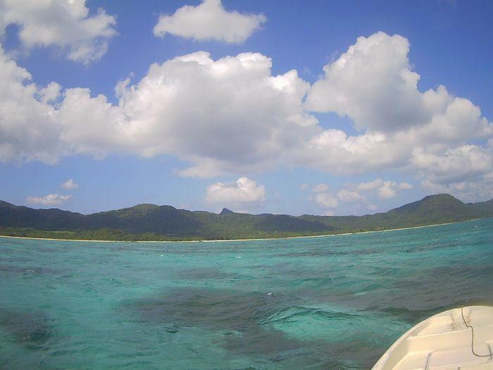 天気は晴れ!の石垣島です