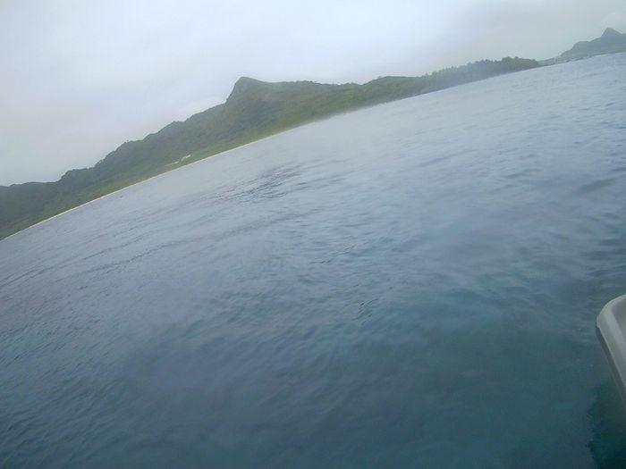 どんより天気の石垣島