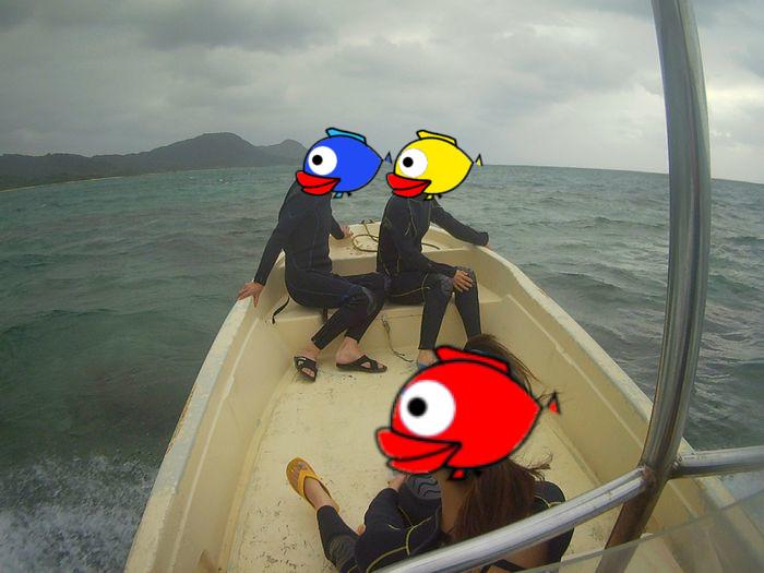 初めての石垣島、S木さんご家族です
