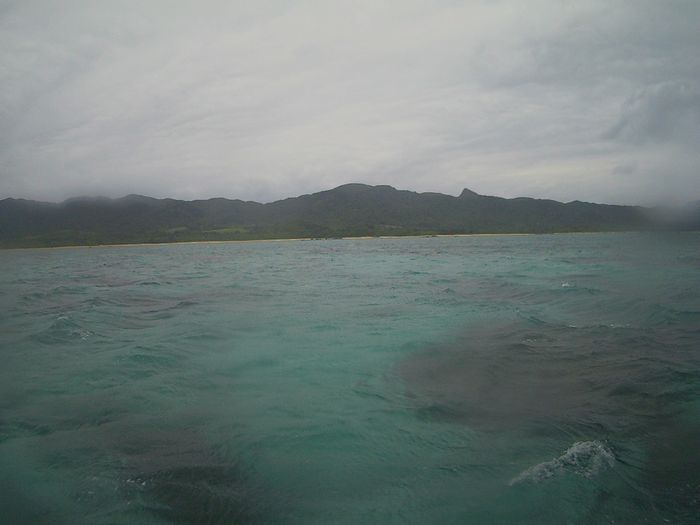 本日の天気も曇りの石垣島です