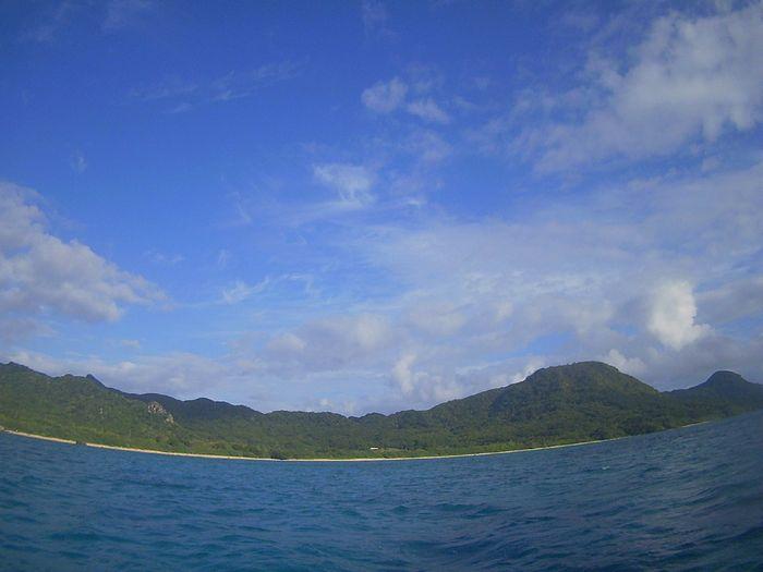 やっと11月、青空登場の石垣島です。