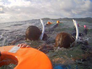ご旅行最終日もシュノーケル!最後の最後まで海を楽しみました!