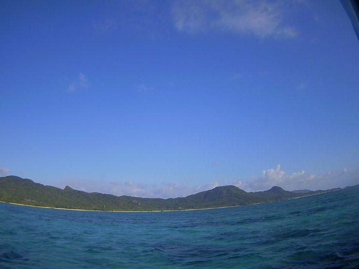 抜けるような青空の石垣島