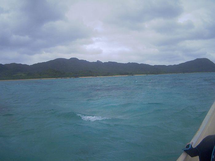 早く穏やかな海になってほしい