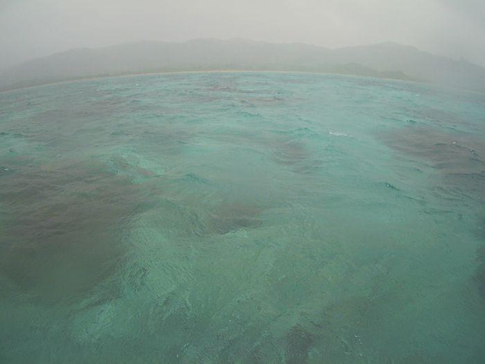 雨降りの石垣島