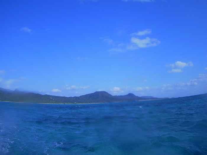 天気は晴れとなった石垣島です