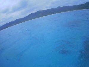 透明度抜群の冬の石垣島をシュノーケル!気温と裏腹に水中は暖かい!