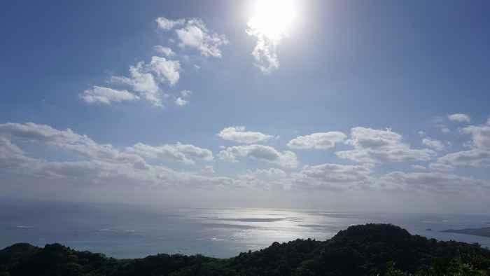 晴れの天気の石垣島はメンテンナンス日和