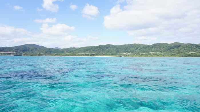 晴れた石垣島はシュノーケル日和です