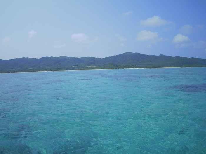 3月の石垣島、シュノーケリング日和です。