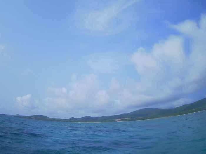 晴れの石垣島です