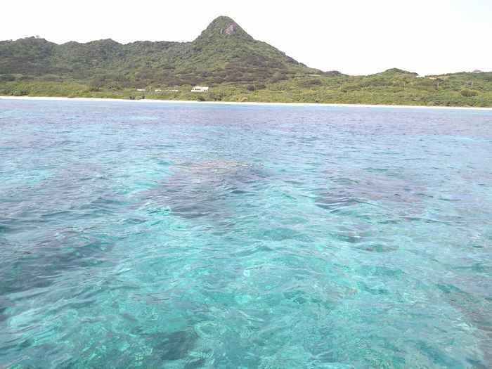 透明度抜群の3月の石垣島の海