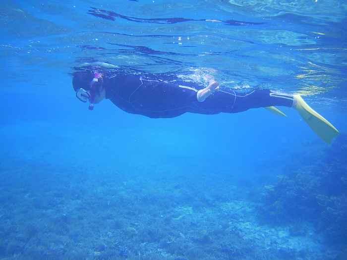 石垣島北部の海を満喫です