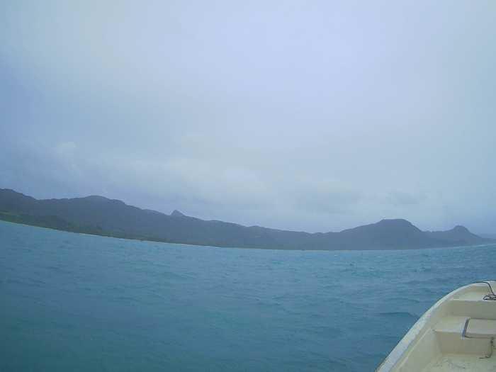 曇ったり晴れたりの石垣島