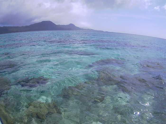 梅雨入りする晴れ間広がる石垣島です
